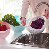 Kitchen Bowl with Strainer