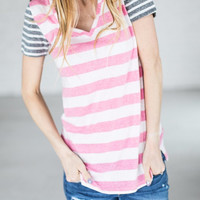All The Stripes Tee