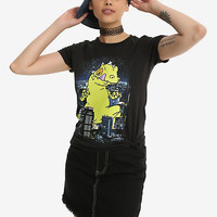 Rugrats Reptar City Girls T-Shirt