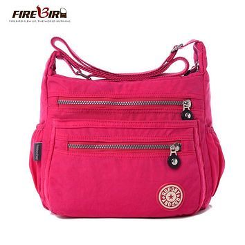 Hot !!!women Messenger bags nylon women bag shoulder Crossbody Bags fashion Ladies handbags 9 color school bags sac a main H162