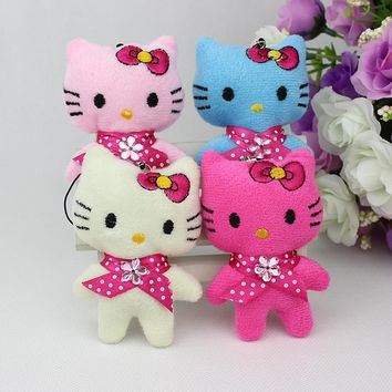 Mini doll cat plush toy cell phone