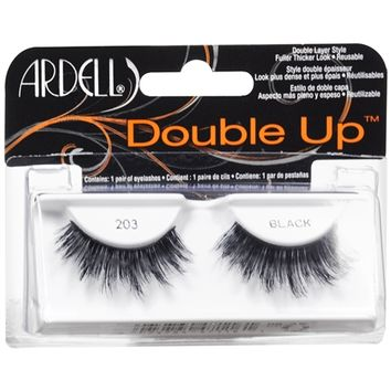 Ardell Double Up Lashes Style 203 Black | Walgreens
