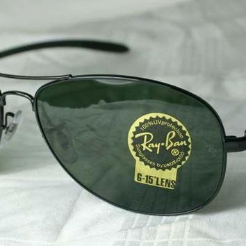 """RAY-BAN SUNGLASSES CARBON RB 8301 002 NEW Waist 44"""""""