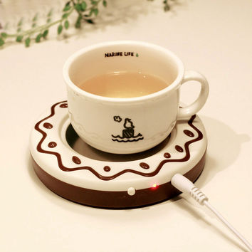 Winter Warm Usb Cup Warmer Coffee Tea Cup Gift