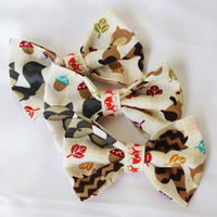 Woodland Critters Clip-On Bow