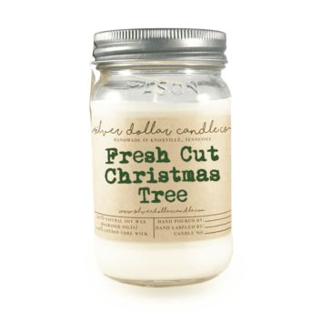 Fresh Cut Christmas Tree - 16oz Soy Candle