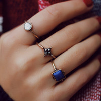 Dreamy Melody Ring Set