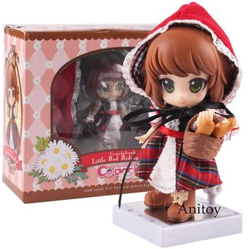Cu-poche friends Little Red Riding Hood Real Clothes Ver. PVC Action Figure Collectible Model Toy Model Figures Pvc Toys