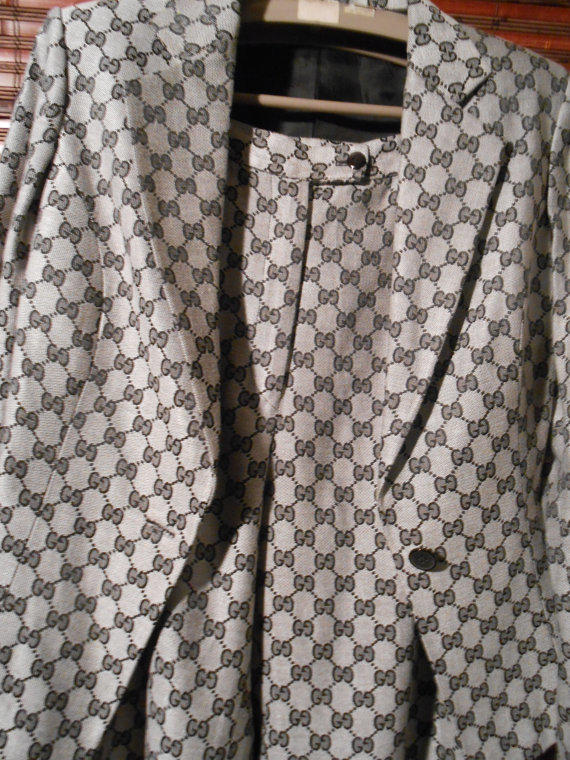 gucci female monogram logo pant suit from devastatinglyreal on
