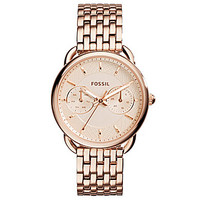 Fossil Ladies' Tailor Rose Gold Multifunction Watch
