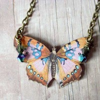 Butterfly Series 04 by MySelvagedLife on Etsy