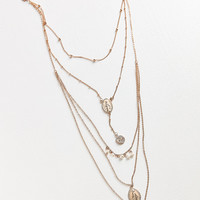 8 Other Reasons Mary Layering Lariat Necklace | Urban Outfitters