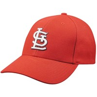 St Louis Cardinals Wool Replica Baseball Cap, Size: One Size (Red)