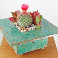 Rustic Zen Planter - Handmade Ceramic Planter - Rustic Decor