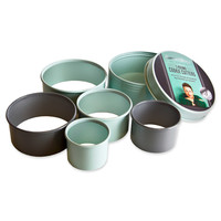 Jamie Oliver Round Cookie Cutters in Multi