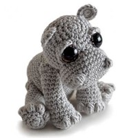 Buy Rosie the Hippo amigurumi pattern - AmigurumiPatterns.net