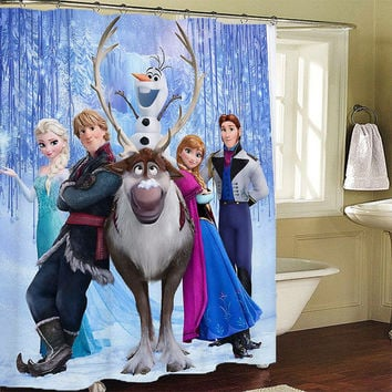 disney frozen Shower Curtains