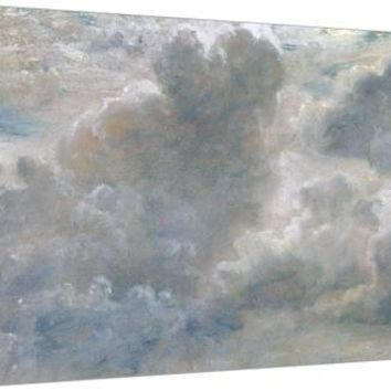 Study of Cumulus Clouds, 1822 (Oil on Paper Laid on Canvas) Giclee Print by John Constable at Art.com