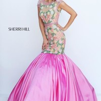 Sherri Hill Beaded Mermaid Dress 50304