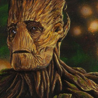 """""""We Are Groot"""" by Tony Hodgkinson"""