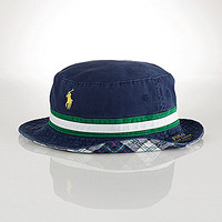 Polo Ralph Lauren Big & Tall Reversible Tartan Bucket Hat - Newport Na