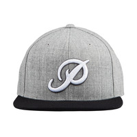 CLASSIC P SNAPBACK - HEATHER-GREY