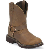 L9992 Women's Gypsy Motorcycle Justin Boots from Bootbay, Internet's Best Selection of Work, Outdoor, Western Boots and Shoes.