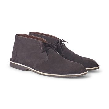 The Idle Man Suede Desert Boot Brown
