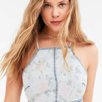 Kimchi Blue Luanne Floral Cropped Cami - Urban Outfitters