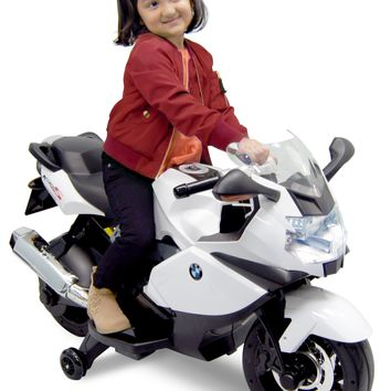 Best Ride On Cars BMW 12 V Motorcycle (Red/White/Blue)