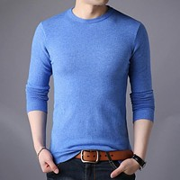 Men Fashion Wool Pullover Sweaters 569