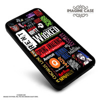 Broadway Musical Collage case cover for iphone, ipod, ipad and galaxy series