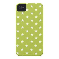 Acid And White Stars iPhone 4 Covers from Zazzle.com