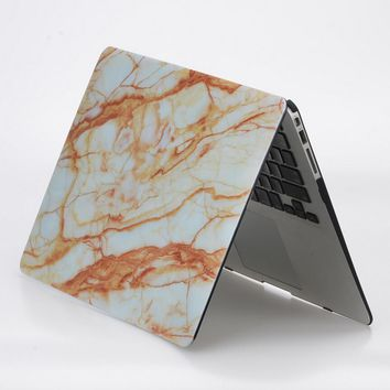 marble macbook air 13 case cover novo rubberized hard shell  number 1