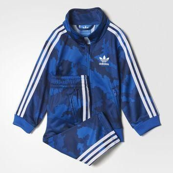 adidas Firebird Track Suit - Blue | adidas UK