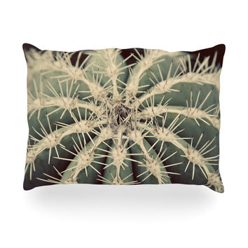 "Angie Turner ""Cactus"" Plant Oblong Pillow"