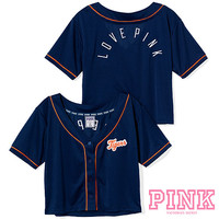 Detroit Tigers Victoria's Secret PINK® Crop Baseball Jersey - MLB.com Shop