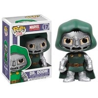 Fantastic Four Dr. Doom Marvel Pop! Vinyl Bobble Head - Funko - Fantastic Four - Pop! Vinyl Figures at Entertainment Earth