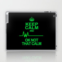 Keep Calm Laptop & iPad Skin by Alice Gosling