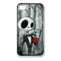 Retail New Fashion Nightmare Before Christmas Custom Painted Hard Protective Plastic Phone Case Cover For Iphone 4 4S 5 5S 5C Alternative Measures