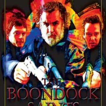 Boondock Saints Trio Blacklight Poster 23x35