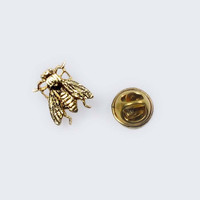 Big Bee or Fat Fly Vintage Flair Pin
