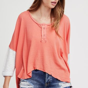 Free People Star Henley Top