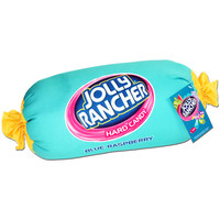 Blue Raspberry Jolly Rancher Squishy Candy Pillow | CandyWarehouse.com Online Candy Store