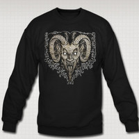 Krampus Nacht Holiday sweat shirt