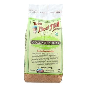 Bob's Red Mill Organic Coconut Sugar - 16 Oz - Case Of 4