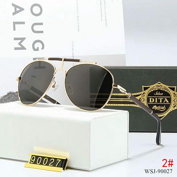DITA Trending Women Men Cool Summer Sun Shades Eyeglasses Glasses Sunglasses 2# Black I-A-SDYJ