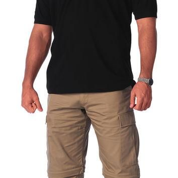 Military Embroidered Polo Shirts
