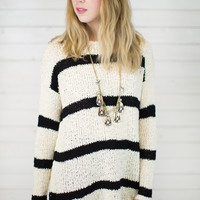 Seeing Double Knit Sweater