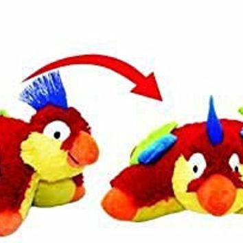 Colorful Beak Tropical Parrot Pillow Pets Pee Wees